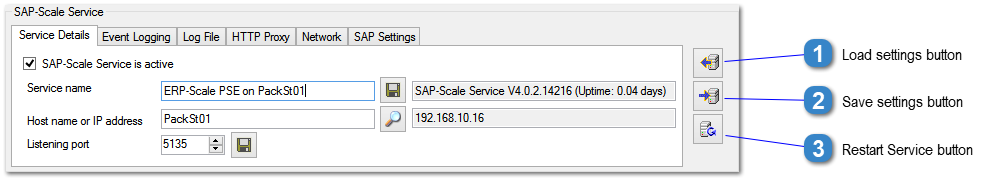 SAP-Scale Service Overview
