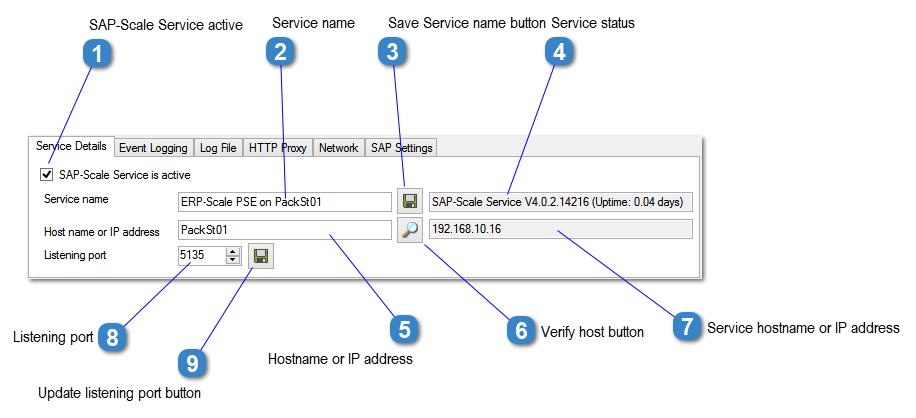 SAP-Scale Service Details